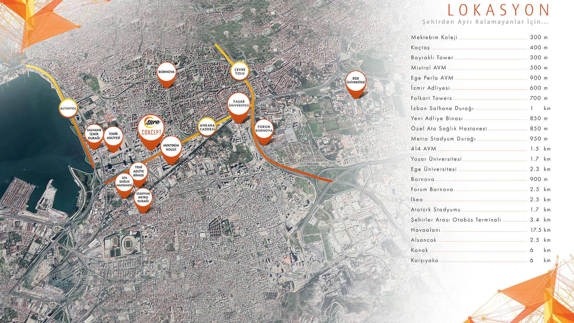 Cebeci Concept - Lokasyon